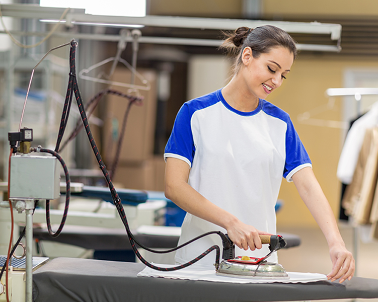 Dry Cleaning Services - Ironing Shirt